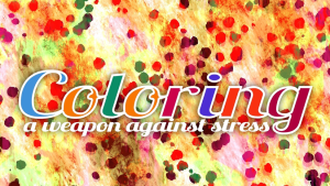 Coloring Weapon Against Stress Photo