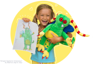 Turn Your Coloring Page Into A Stuffed Animal at Budsies.com