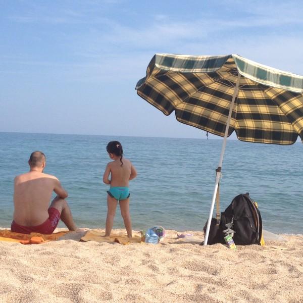 On The Beach in Spain Photo