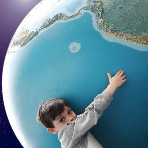 Holding Earth Photo