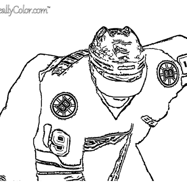 Tyler Seguin Boston Bruins Coloring Page