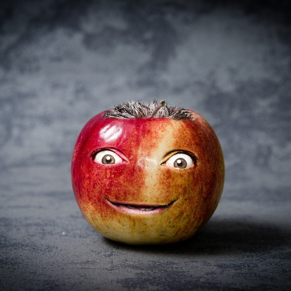 Smiling Apple Photo