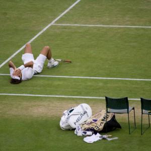 Wimbledon Victory Photo