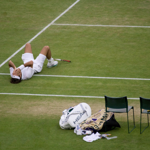 Wimbledon Victory Photo
