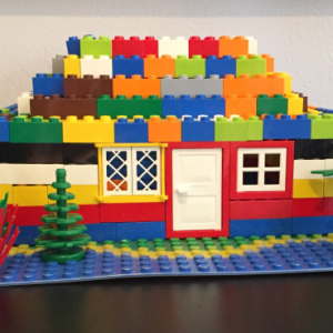 ReallyColor - Lego House Photo