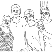 ReallyColor User Hall of Fame - Family Coloring Page