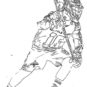 ReallyColor User Hall of Fame - LaCrosse Coloring Page