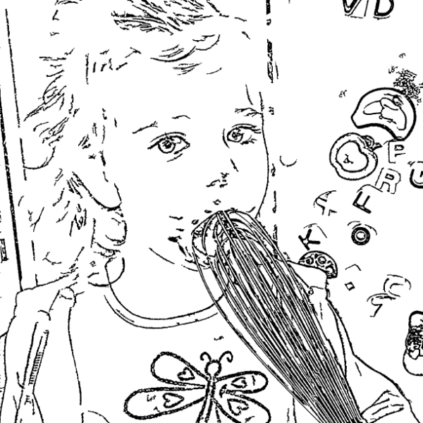 ReallyColor User Hall of Fame - Now That Tastes Good Coloring Page