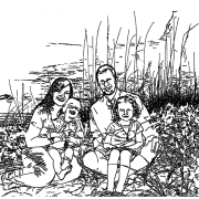 ReallyColor User Hall of Fame - On The Beach Coloring Page