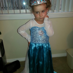 ReallyColor User Hall of Fame - Thoughtful Princess Photo