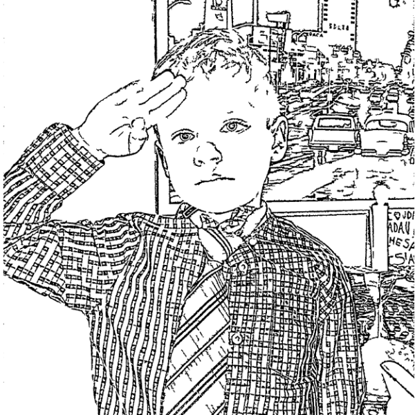 ReallyColor User Hall of Fame - Yes Sir! Coloring Page