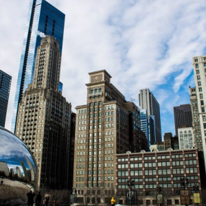 ReallyColor - Chicago Skyline Photo