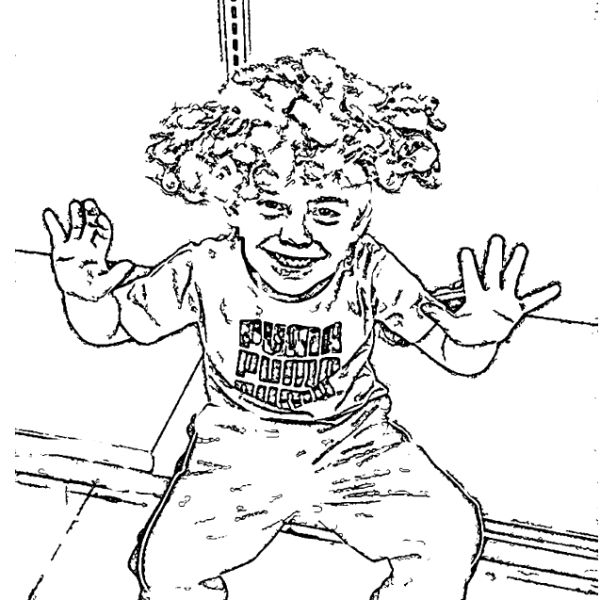 ReallyColor User Hall of Fame - Clowning Around Coloring Page