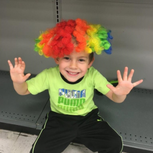 ReallyColor User Hall of Fame - Clowning Around Photo