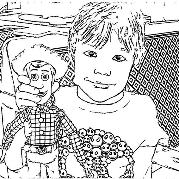 ReallyColor User Hall of Fame - Toy Story Coloring Page