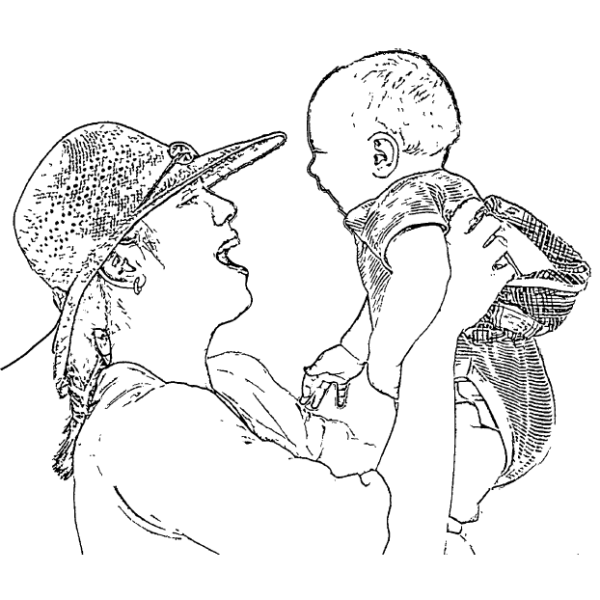 ReallyColor - Mother Coloring Page