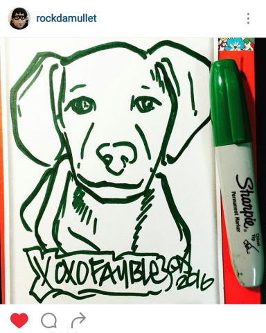 ReallyColor User Hall of Fame - Draw Your Puppy Photo
