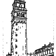 ReallyColor User Hall of Fame - Clock Tower Coloring Page