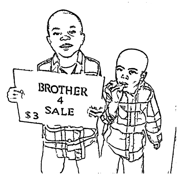 ReallyColor User Hall of Fame - Brother For Sale Coloring Page