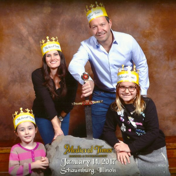 ReallyColor Hall of Fame - King Queen Princesses Photo