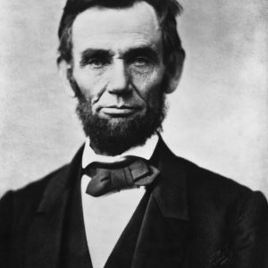 ReallyColor - Abraham Lincoln President Photo