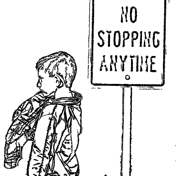 ReallyColor - No Stopping Coloring Page